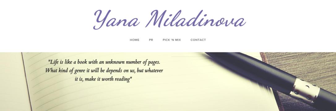 Meet the PR Blogger Yana Miladinova