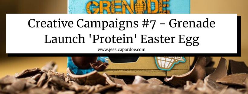 Grenade Protein Easter Egg
