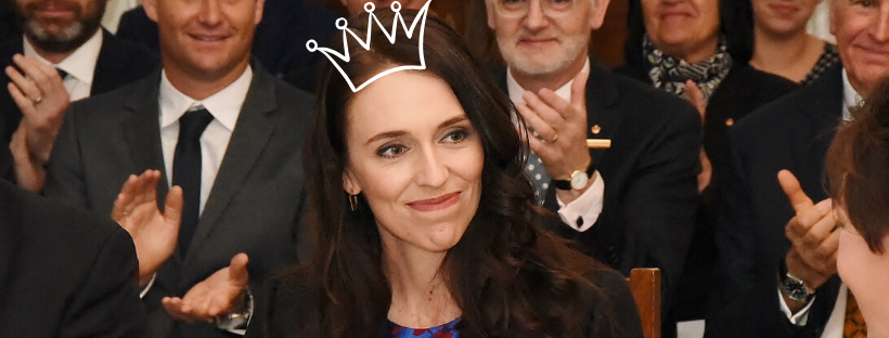 Jacinda Ardern Communications Queen