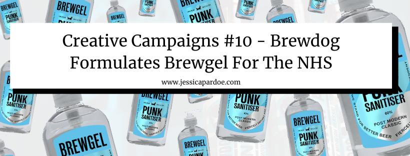 Brewdog Hand Santizer Marketing Campaign