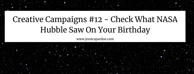Nasa Hubble Telescope Birthday Campaign