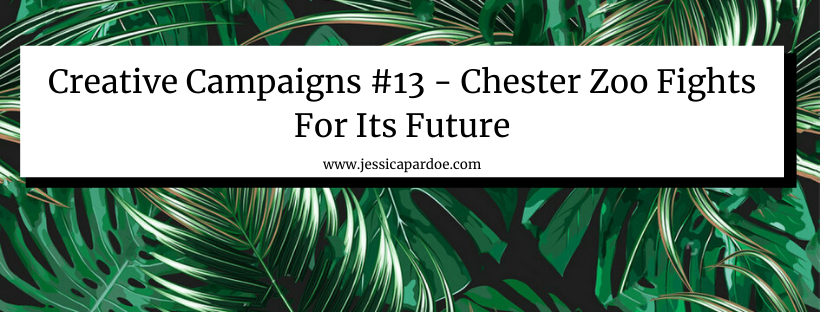 Chester Zoo Save Our Zoo Campaign PR
